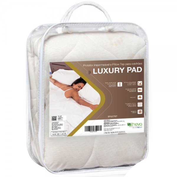 PROTECTOR IMPERMEABLE PARA COLCHÓN LUXURY PAD