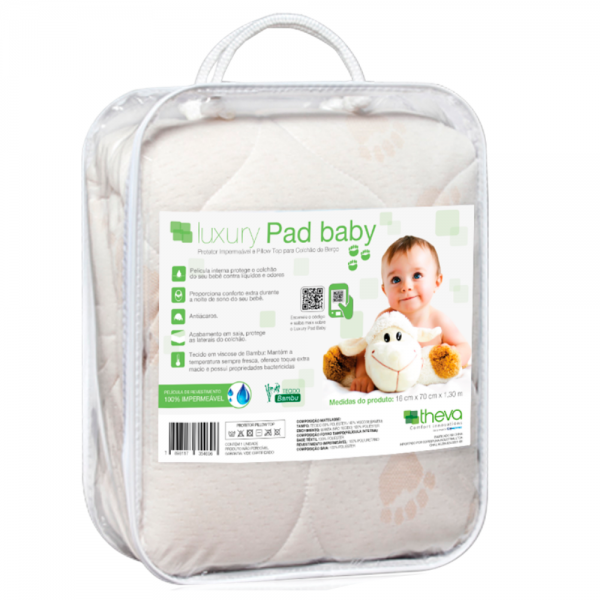 PROTECTOR IMPERMEABLE INFANTIL LUXURY BABY