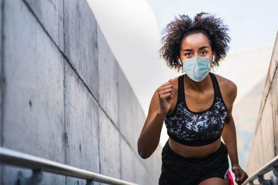 Corrida de rua durante a pandemia
