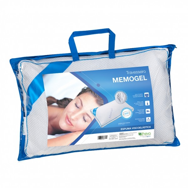 TRAVESSEIRO VISCOELÁSTICO MEMOGEL PILLOW